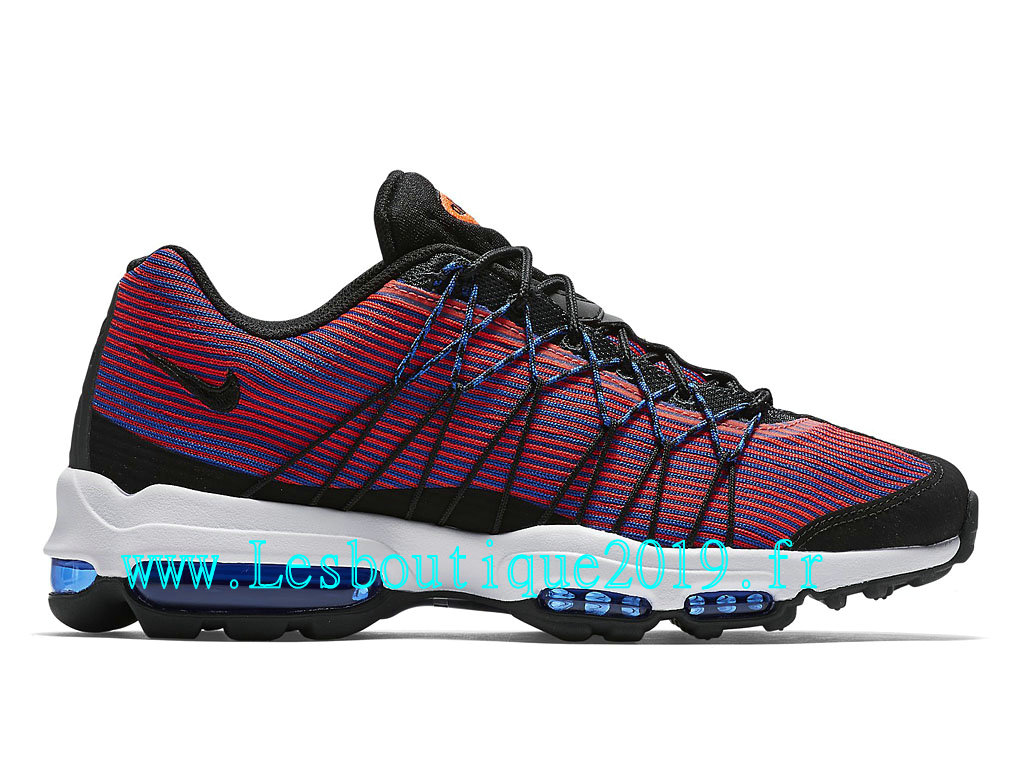d0997d90c1 Nike Air Max 95 Ultra Jacquard Chaussures Officiel Running Pas Cher Pour  Homme Game Royal 749771_406 ...