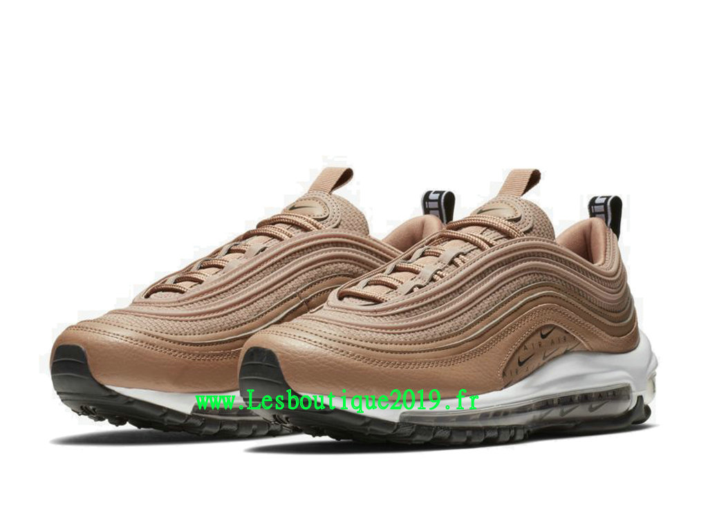 best sneakers ad729 797a5 ... Nike Air Max 97 Lux Or Blanc Chaussures Officiel Running Pas Cher Pour  Homme AR7621- ...