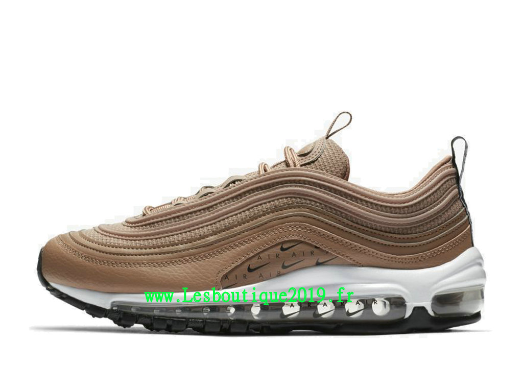Nike Air Max 97 Lux Or Blanc Chaussures Officiel Running Pas Cher Pour Homme AR7621-200
