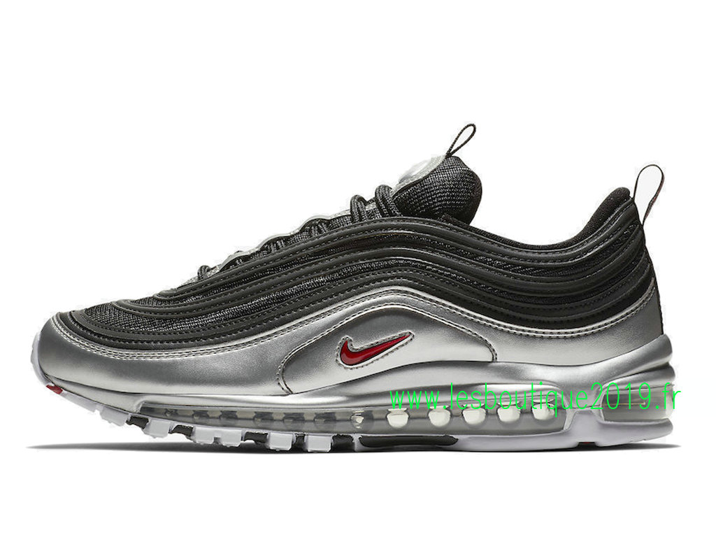 detailed look 0b572 4805c Nike Air Max 97 Metallic Pack Chaussures de BasketBall Pas Cher Pour Homme  AT5458-001 ...