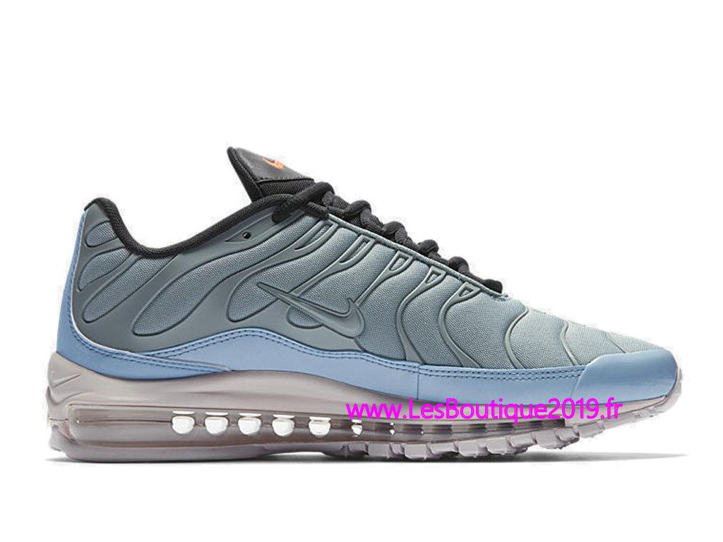 Nike Air Max 97 Plus Bleu Noir Chaussure de Running Pas Cher Pour Homme  AH8144- ... 7cc5ecdafefb