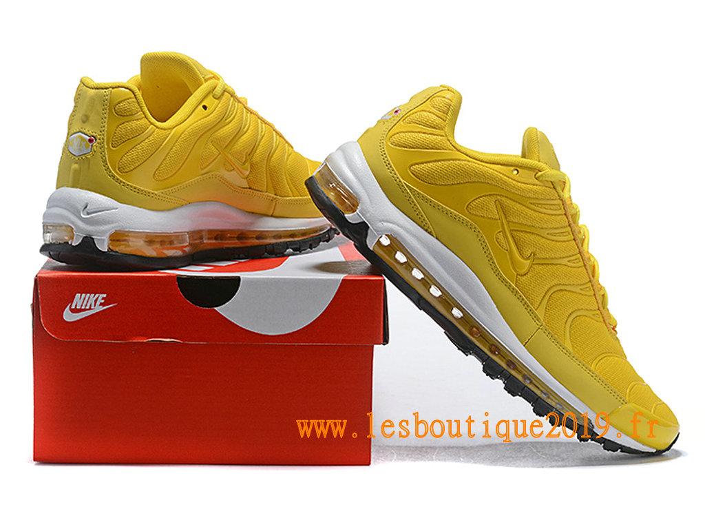 Nike Air Max 97 Plus Chaussures Nike BasketBall Pas Cher Pour Homme Jaune Blanc 1810240967 Achetez de Chaussure de Baskets ! Nike en ligne!