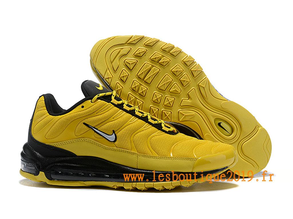 super service prix de gros plus de photos Nike Air Max 97 Plus Chaussures Nike BasketBall Pas Cher Pour Homme Jaune  Noir - 1810240970 - Achetez de Chaussure de Baskets ! Nike en ligne!