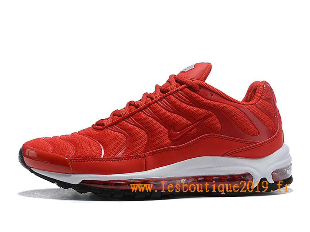 size 40 e0685 98f3f Nike Air Max 97 Plus Men´s Nike BasketBall Shoes Red White