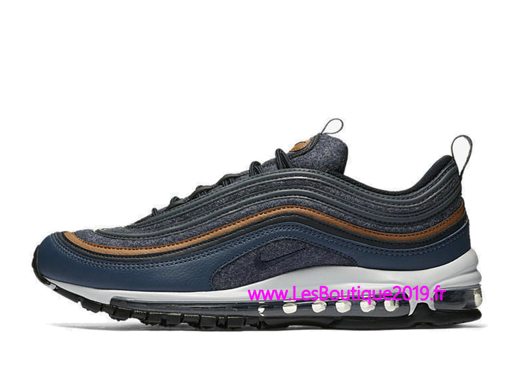 newest collection cd7e6 966b1 ... Nike Air Max 97 Premium Blue White Men´s Nike BasketBall Shoes ...