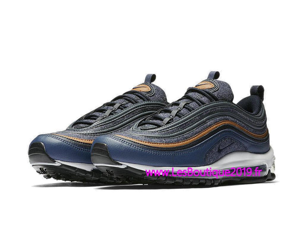 c79ad7f1eb9 ... Nike Air Max 97 Premium Blue White Men´s Nike BasketBall Shoes 8312834- 400 ...