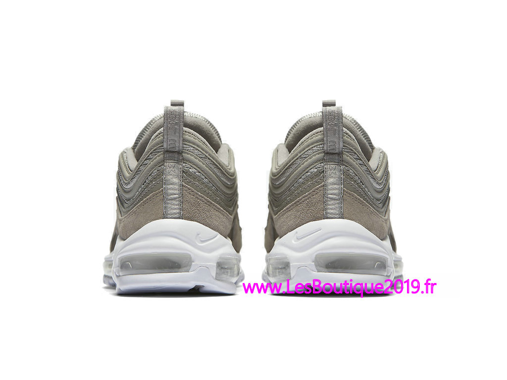 new concept 9d6ee 8401c ... Nike Air Max 97 Premium Gery White Men´s Nike Basket Shoes 921826-002