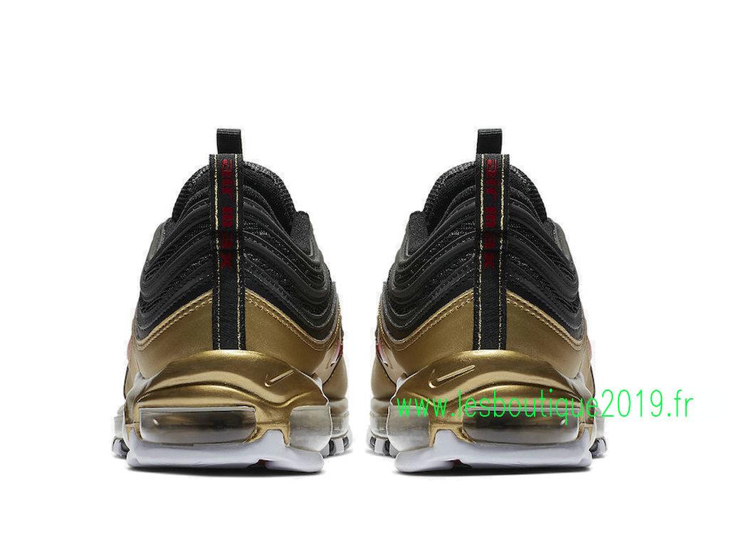 Nike Air Max 97 Qs Black Gold Mens Nike Basketball Shoes At5458 002