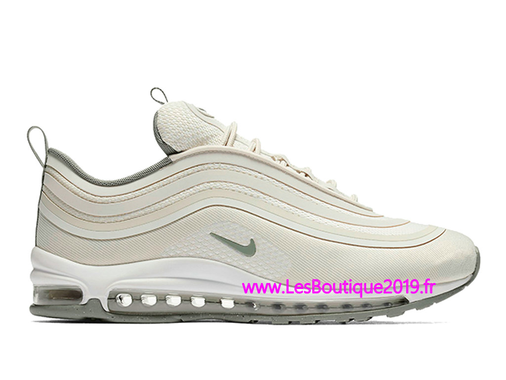 new product e4216 f1bc1 Nike Air Max 97 Ultra 17 Light Bone Chaussures Officiel Nike 2018 Pour  Homme 918356- ...