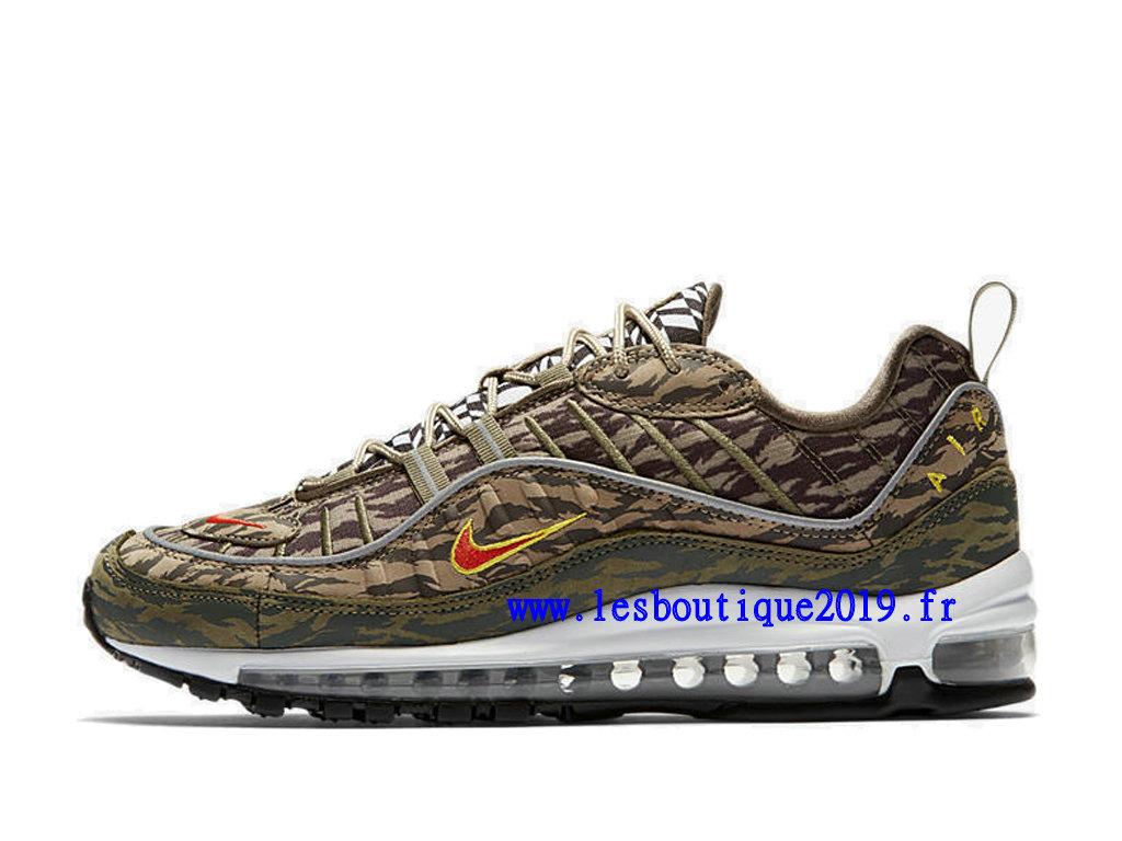 cheaper 02a9b 99fdc ... Nike Air Max 98 AOP Camo Brun Men´s Nike BasketBall Shoes ...