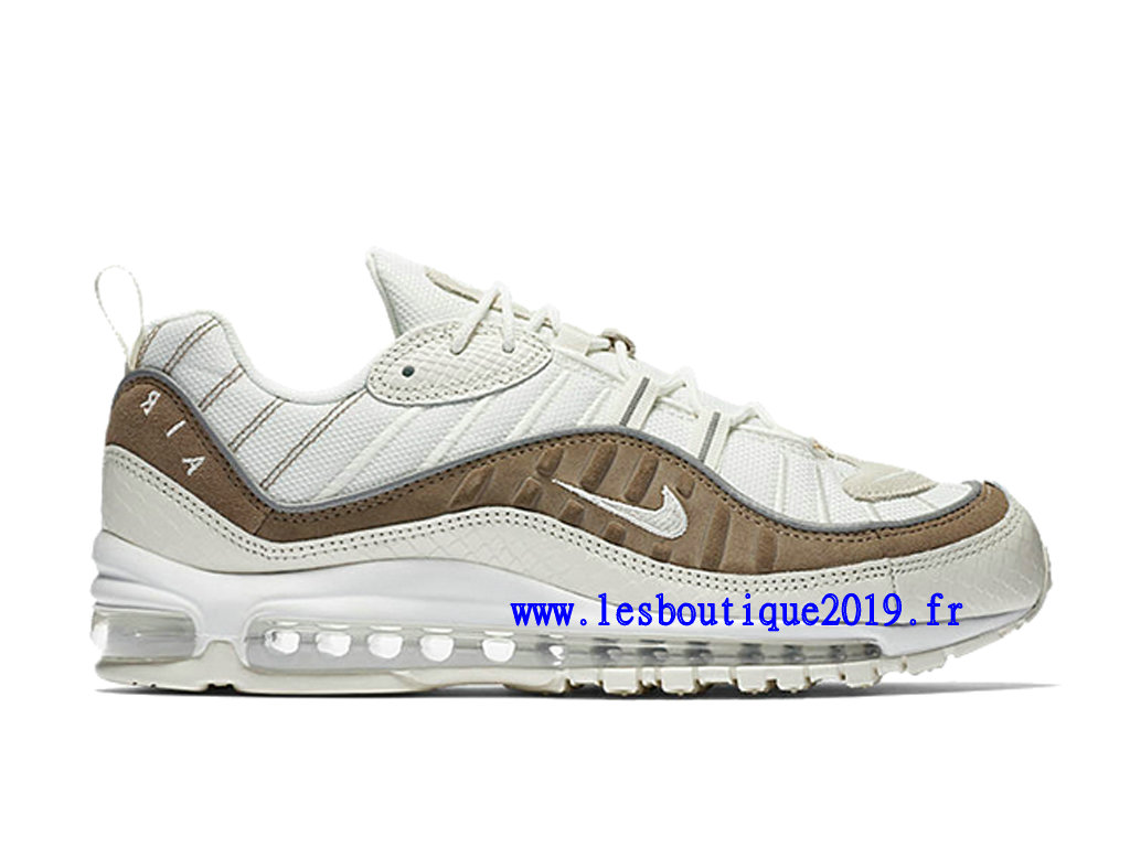 Nike Air Max 98 Exotic Skin Pack Chaussure de BasketBall Pas Cher Pour Homme AO9380-100