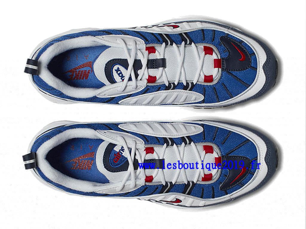 release date ba89d 0d1cb ... Nike Air Max 98 Gundam Bleu Blanc Chaussure de BasketBall Pas Cher Pour  Homme 640744- ...