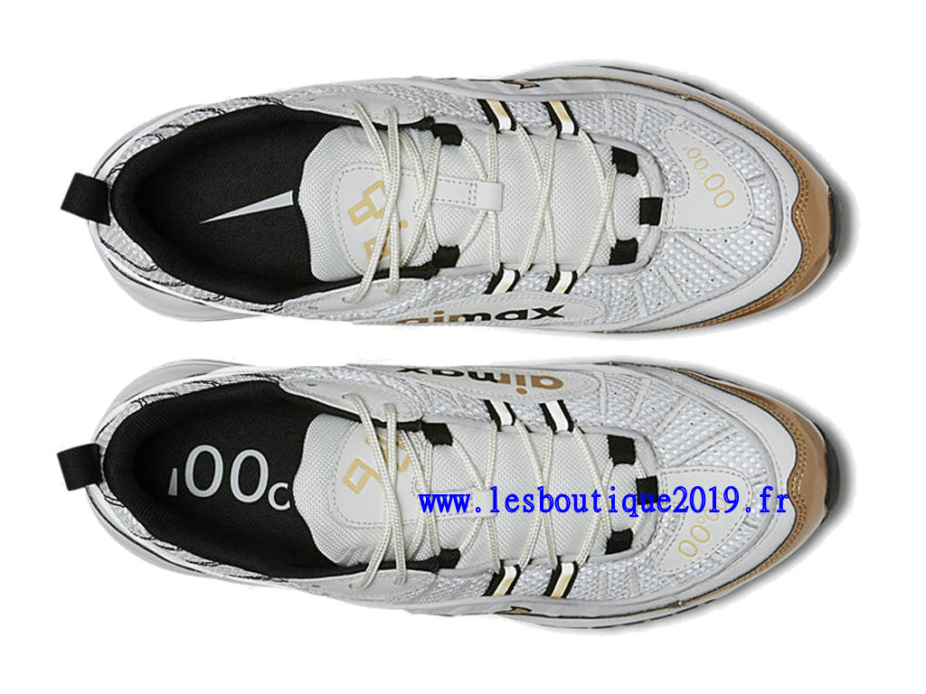new style b7bcc 128d1 ... Nike Air Max 98 Hyperlocal UK Blanc Or Chaussure de BasketBall Pas Cher  Pour Homme AJ6302 ...