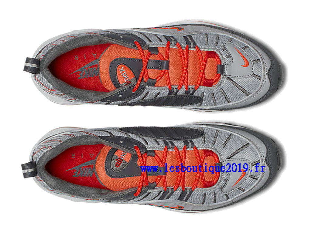newest 142f4 06c8f ... Nike Air Max 98 Total Crimson Gery Red Men´s Nike BasketBall Shoes  640744- ...