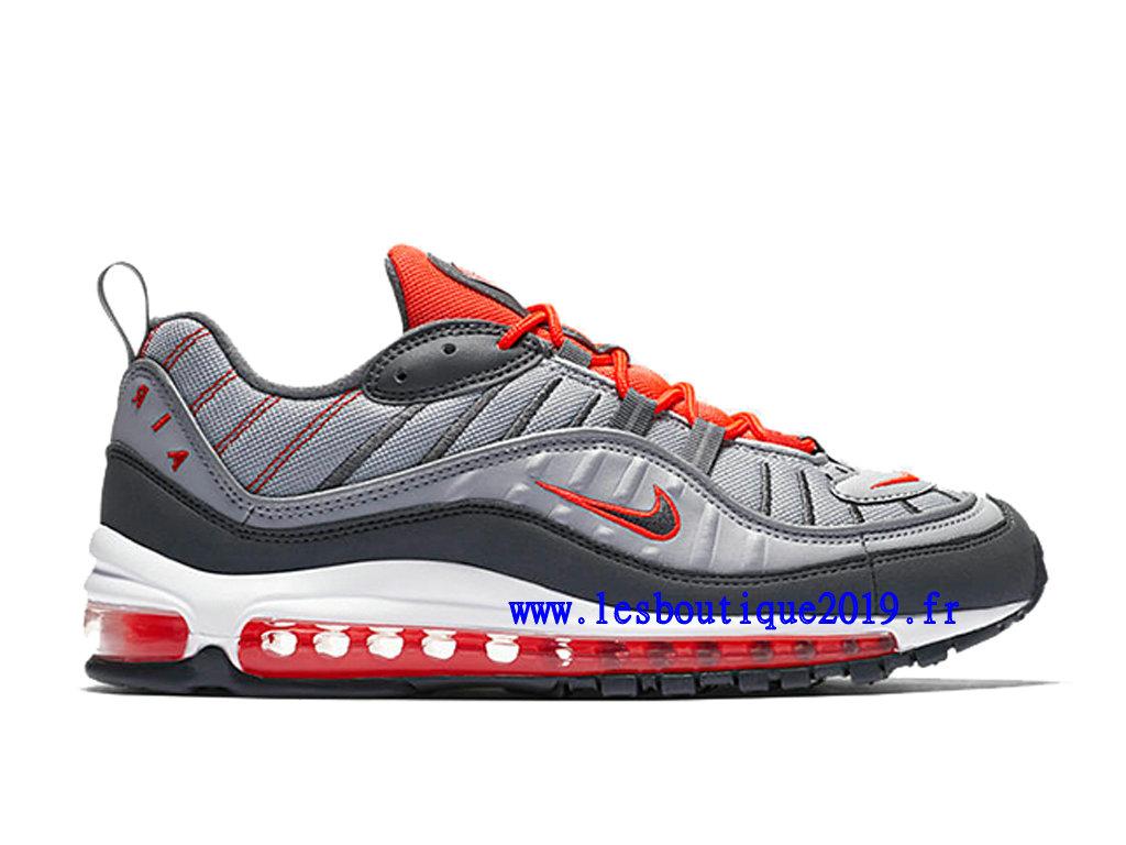 sale retailer 7f518 baf10 Nike Air Max 98 Total Crimson Gery Red Men´s Nike BasketBall Shoes 640744-