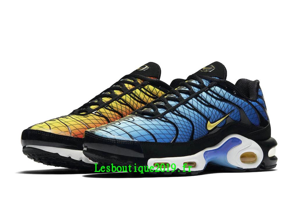 b5cdfd748153 ... Nike Air Max Plus Greedy Chaussures Officiel Tn 2019 Pas Cher Pour  Homme AV7021-001 ...