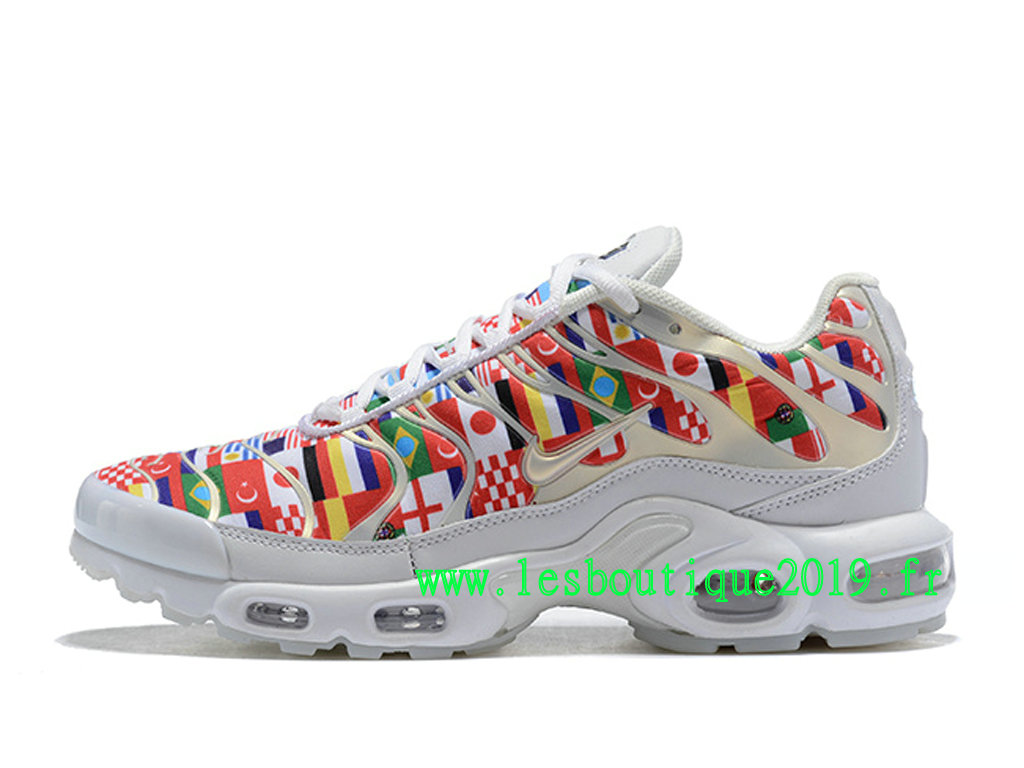size 40 f55de 891a4 Nike Air Max Plus NIC QS Multi Red White Men´s Nike BasketBall Shoes AO5117  ...