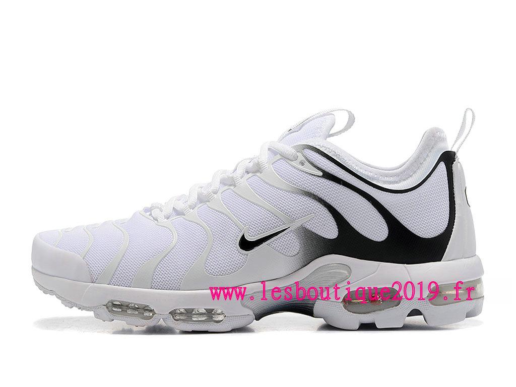 Chaussures Running Homme Nike Air Max TN Pas Cher Blanc Noir