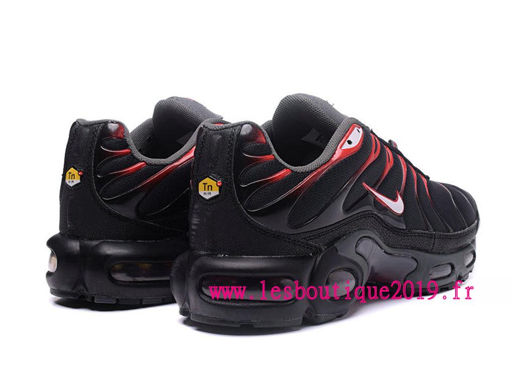 a6a20e06866 ... Nike Air Max Plus noire Rouge Chaussures Nike Prix Pas Cher Pour Homme