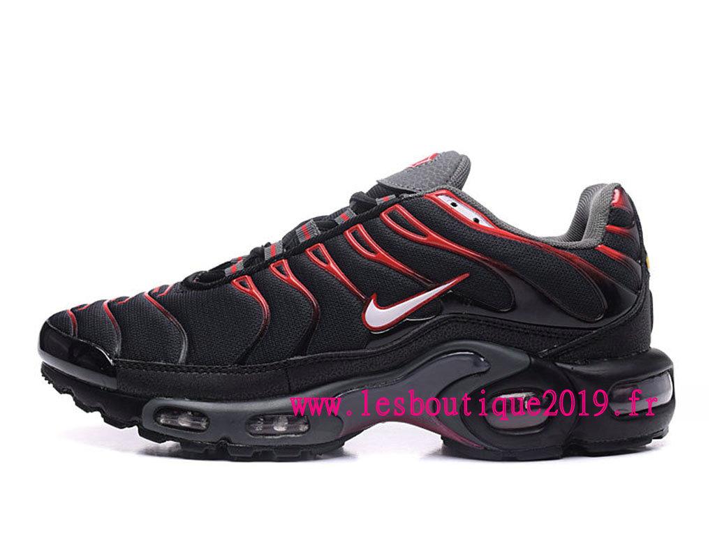 le dernier d2d81 77909 Nike Air Max Plus noire Rouge Chaussures Nike Prix Pas Cher Pour Homme -  1807280162 - Achetez de Chaussure de Baskets ! Nike en ligne!