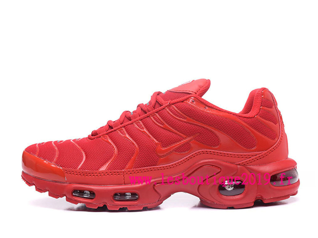 Nike Air Max Plus Rouge Chaussures Nike Running Pas Cher Pour Homme