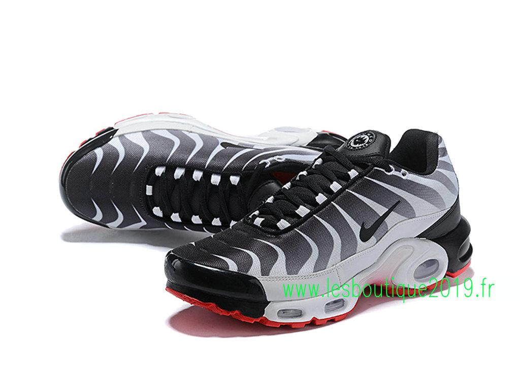 sports shoes 654d1 ec00c ... Nike Air Max Plus Tn Requin 2019 Chaussures de BasketBall Pas Cher Pour  Homme Noir ...