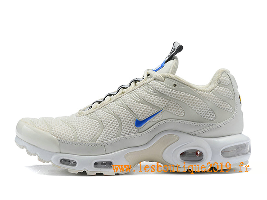 Nike Air Max Plus/Tn Requin 2019 Chaussures Nike Running Pas Cher Pour Homme Blanc Bleu