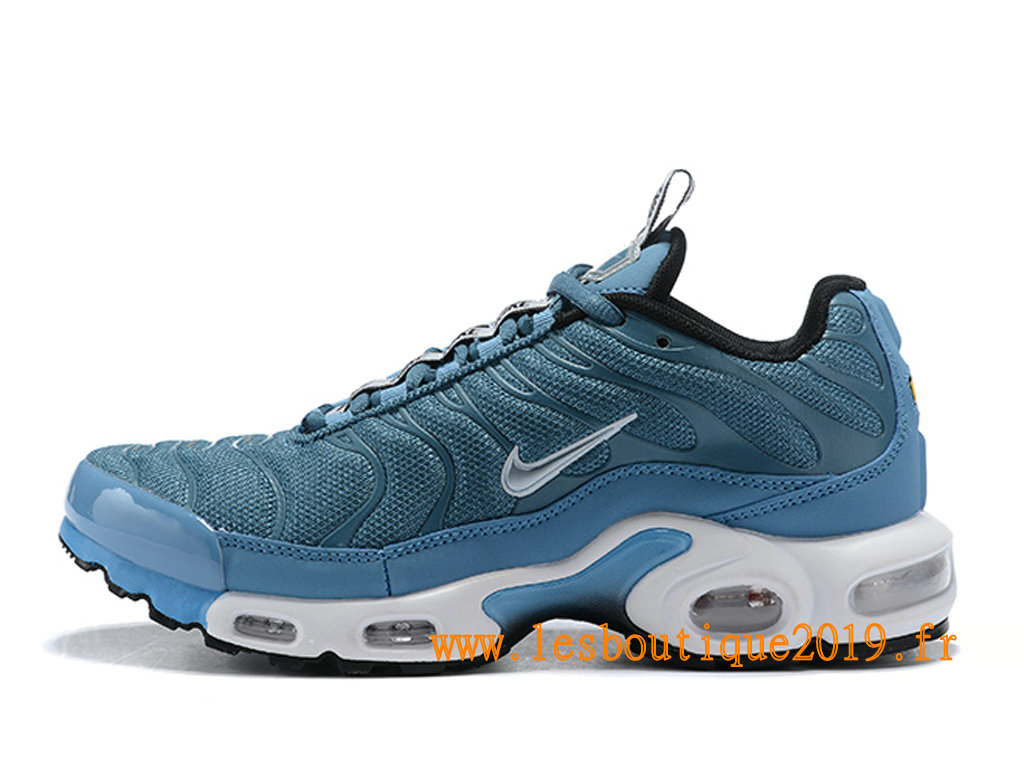 Nike Air Max Plus/Tn Requin 2019 Chaussures Nike Running Pas Cher Pour Homme Bleu Blanc