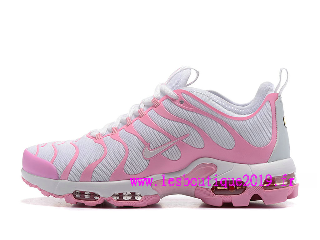 nike air max plus gs tn femme chaussures blanc or