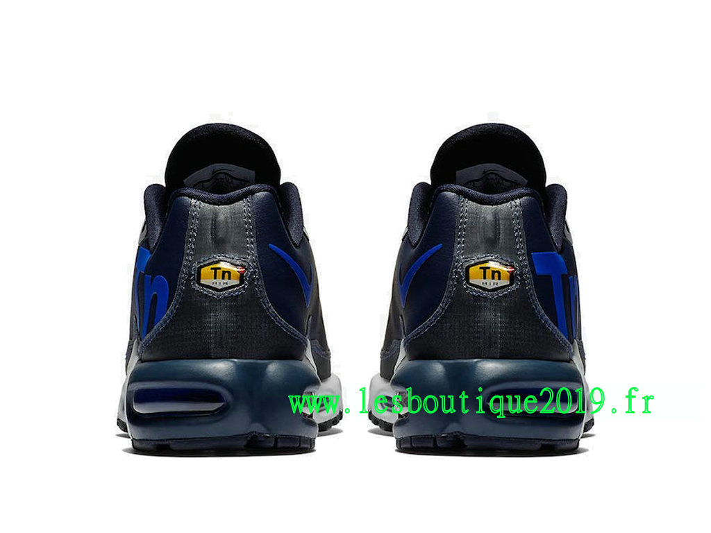 9ceaa27662 ... Nike Air Max Plus TN Ultra SE Black Blue Men´s Nike Running Shoes AQ1088