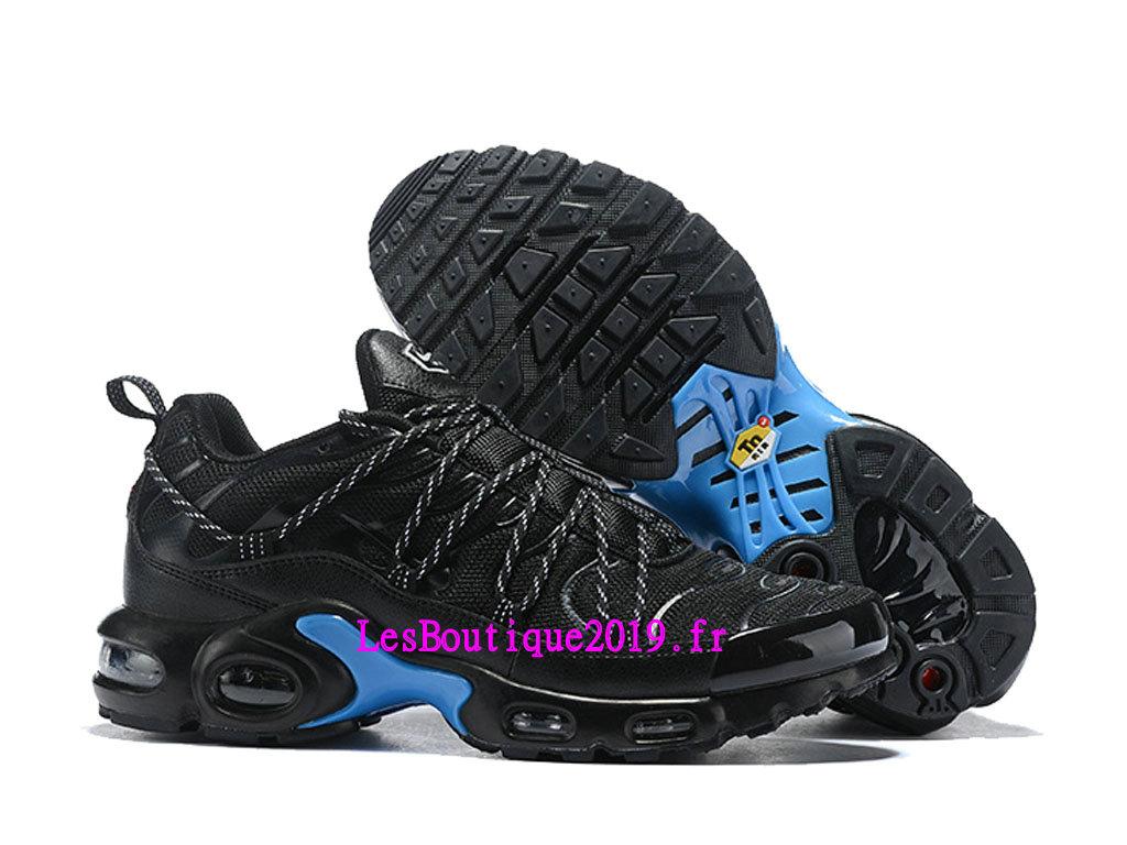 info for 8bb1c 68822 ... Nike Air Max Plus TN Ultra SE Noir Bleu Chaussures Officiel 2019 Pas  Cher Pour Homme ...