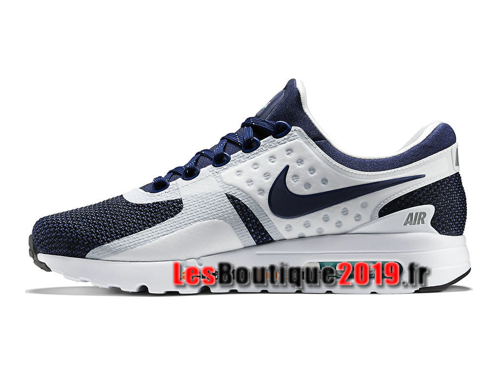 the latest 7cf95 05630 ... Nike Air Max Zero Men´s Unisex Nike Sportswear Shoes White Blue 789695-104  ...