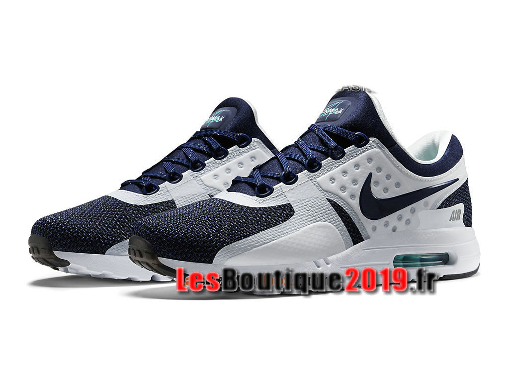 meet 59e7e fc0db ... Nike Air Max Zero Men´s Unisex Nike Sportswear Shoes White Blue  789695-104