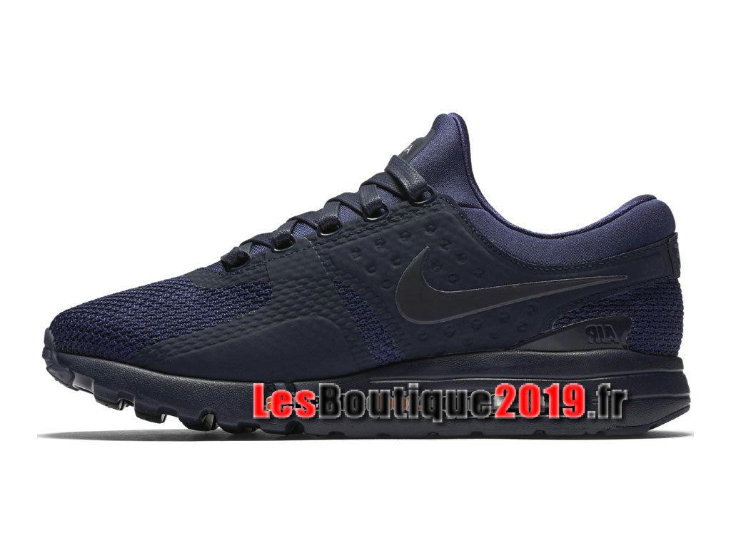 nike air max bleu noir