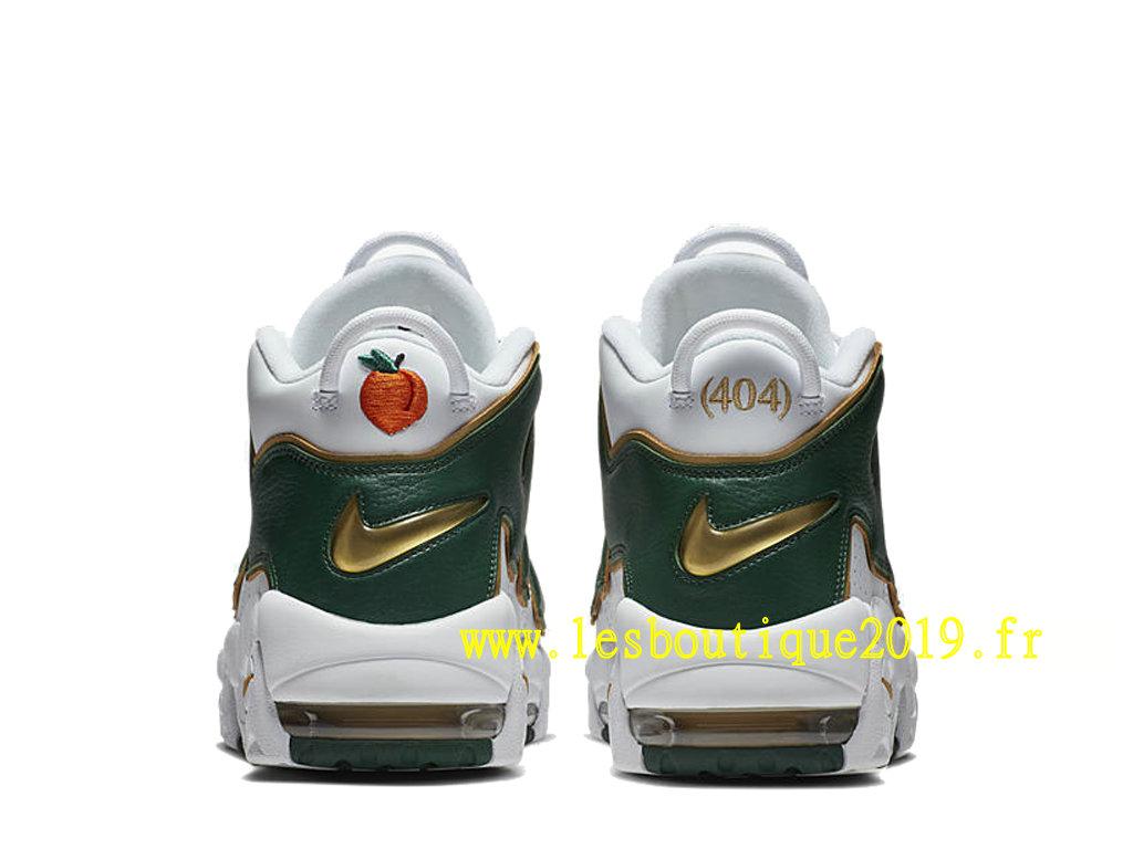 los angeles 60091 8a09a ... Nike Air More Uptempo Atlanta White Green Men´s Nike BasketBall Shoes  AJ3139-100
