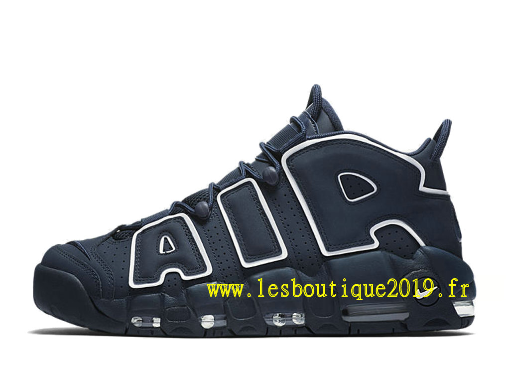 7bcb82147aa67 ... Nike Air More Uptempo Obsidian Blue White Men´s Nike BasketBall Shoes  921948-400 ...