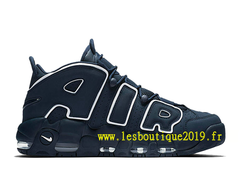 2ee3a6c66ddf6 Nike Air More Uptempo Obsidian Blue White Men´s Nike BasketBall Shoes 921948 -400 ...