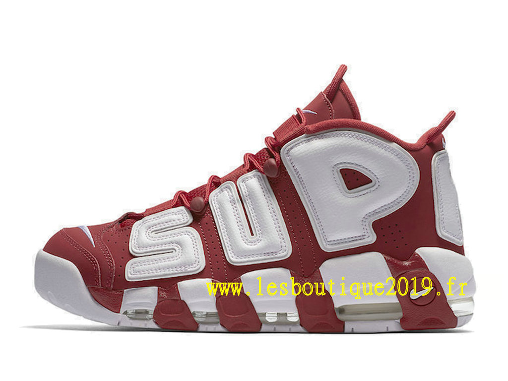 finest selection 6bb49 2eac7 ... Nike AIR More Uptempo Supreme Red White Men´s Nike BasketBall Shoes ...