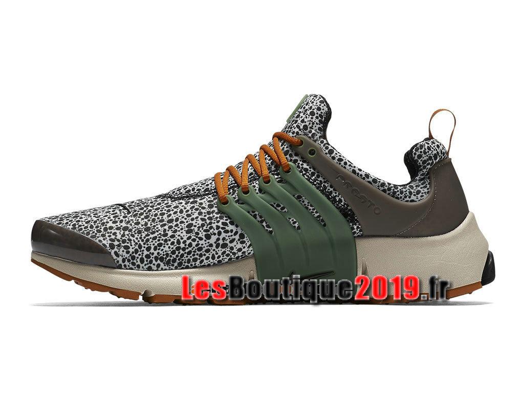 brand new 0c8de dc499 ... Nike Air Presto Safari SE QS Gris Or Chaussures Nike Sportswear Pas Cher  Pour Homme 844448 ...