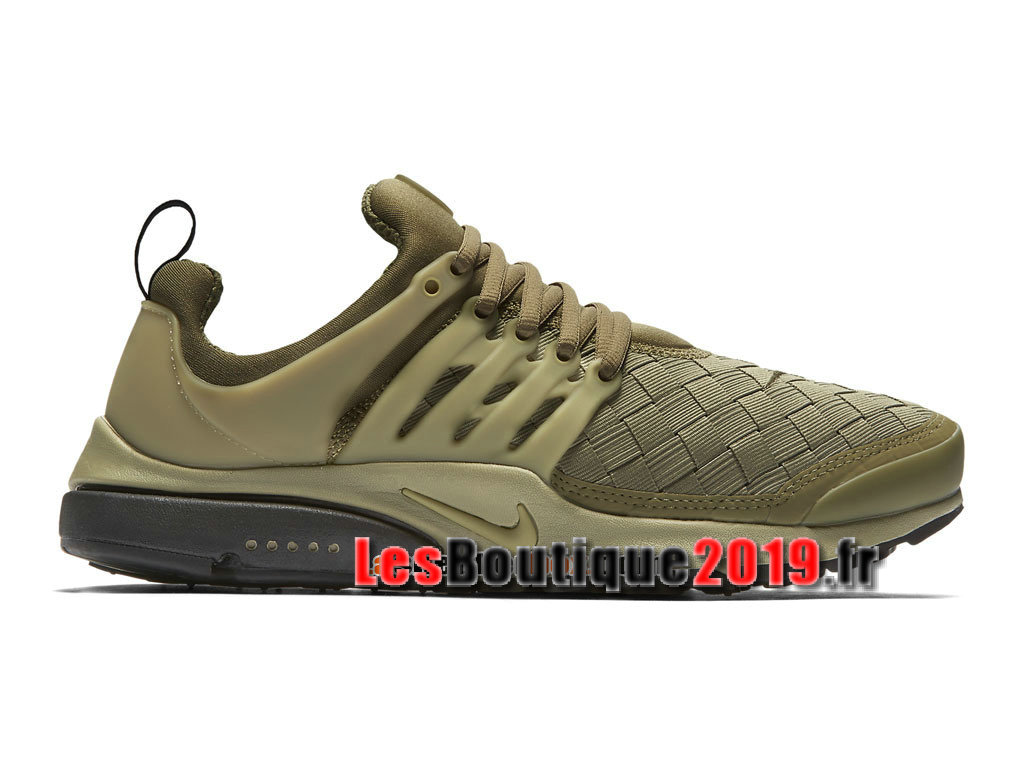 Nike Air Presto SE Woven Brun Chaussures Nike Sportswear Pas Cher Pour Homme 848186-200