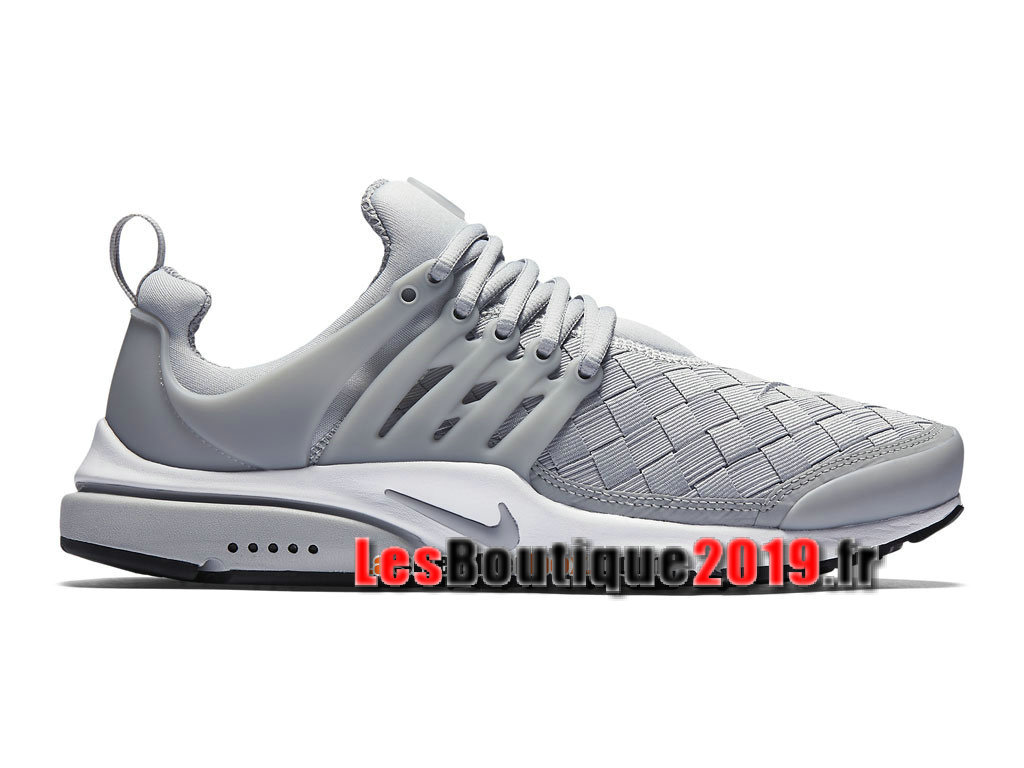 Nike Air Presto SE Woven Gris Chaussures Nike Sportswear Pas Cher Pour Homme 848186-002