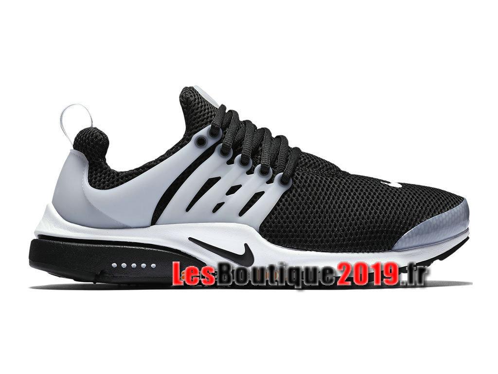 Nike Air Presto Tuxedo Noir Gris Chaussures Nike Sportswear Pas Cher Pour Homme 848132-010 ...