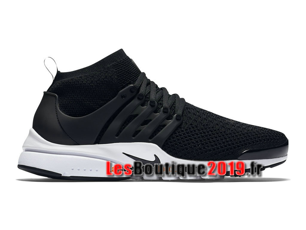 619b0943ed9 Nike Air Presto Ultra Flyknit Black White Men´s Nike Sportswear Shoes 835570 -001