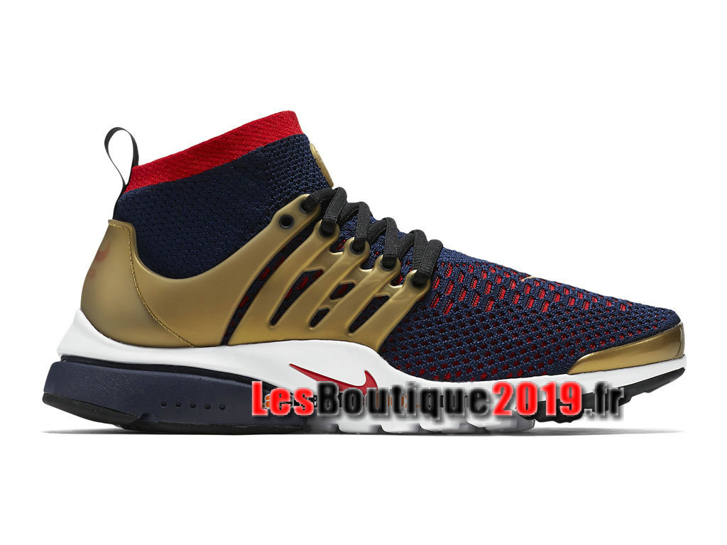 1c5fa842a7f Nike Air Presto Ultra Flyknit Gold Red Men´s Nike Sportswear Shoes 835570 -406