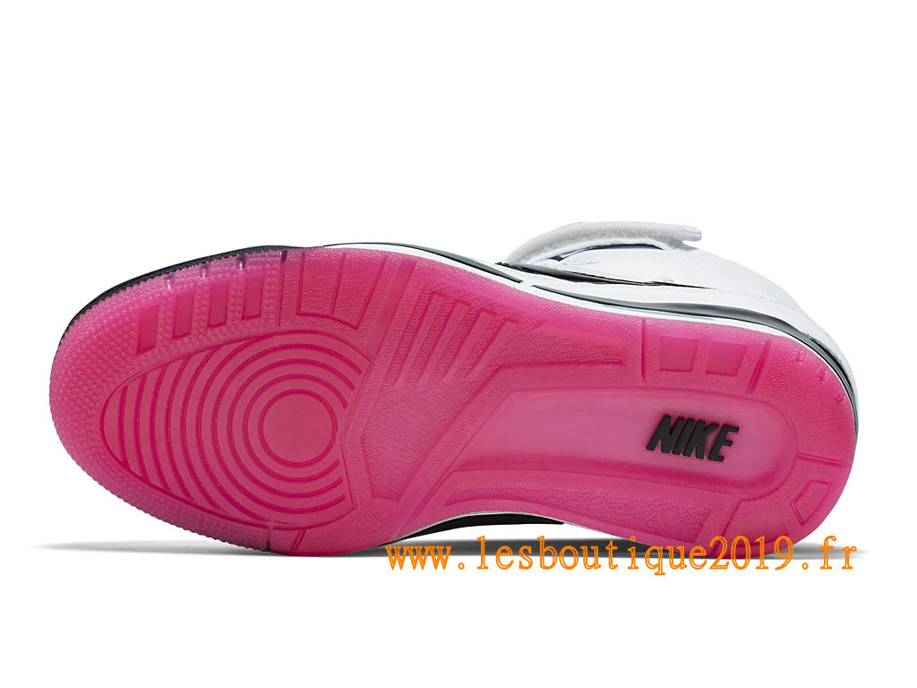 ab960196a20c ... Nike Air Revolution Sky Hi GS Women´s Nike BasketBall Shoes White Black  599410 103 ...