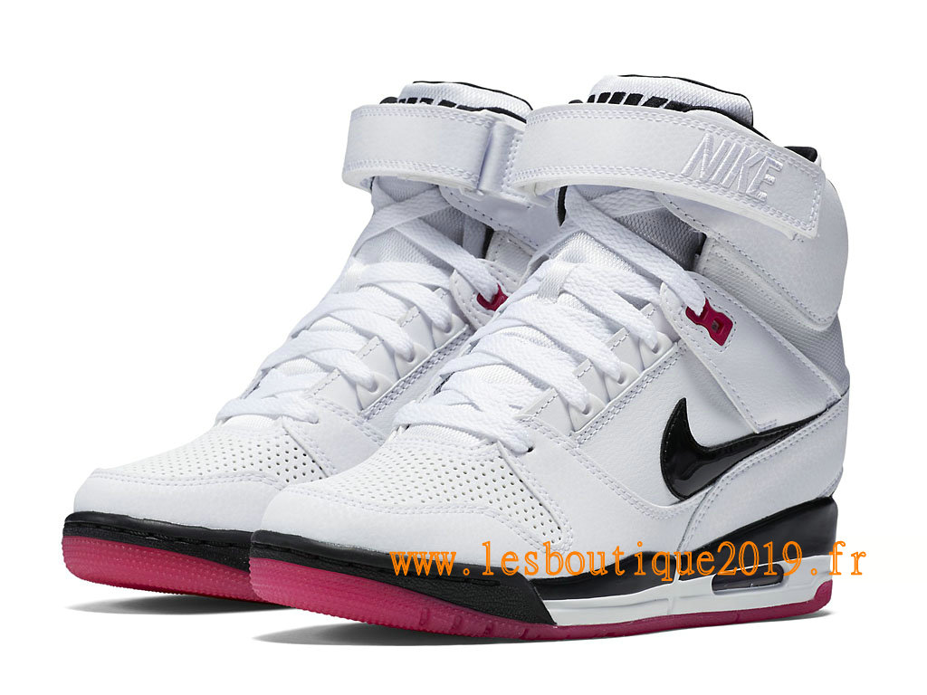 best sneakers 458b6 fae6b ... Nike Air Revolution Sky Hi GS Women´s Nike BasketBall Shoes White Black  599410103 ...