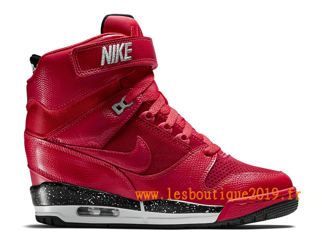 Nike Air Revolution Sky Hi GS Women´s Nike BasketBall Shoes Red Black  599410600 ...