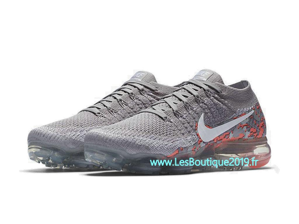 separation shoes 3abd8 32b5b Nike Air VaporMax Camo Gris Rose Chaussure de Running Pas Cher Pour Homme