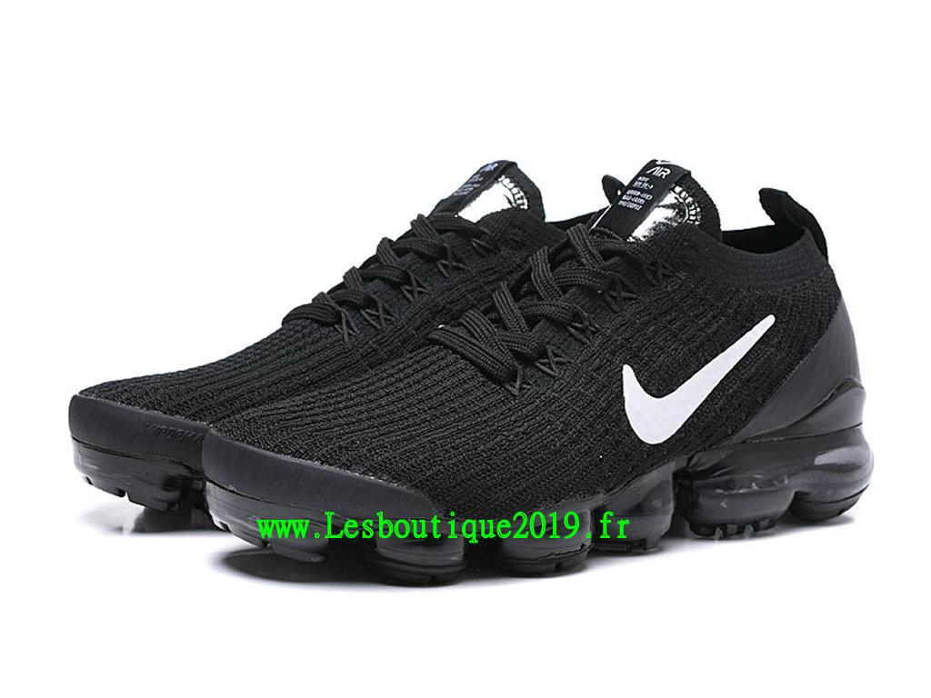 36333cba83c9b ... Nike Air Vapormax Chaussures Basket 2019 Pas Cher Pour Homme Noir Blanc  AJ6900-001 ...