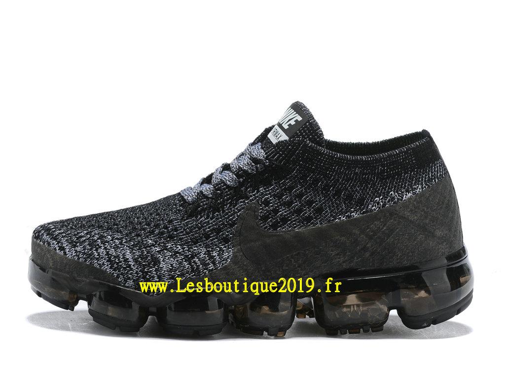 huge selection of 74837 8e9ba Nike Air Vapormax Chaussures Officiel Running 2018 Pas Cher Pour Enfant Noir